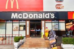 麦克唐纳餐馆 库存照片
