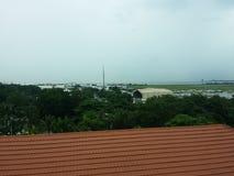 麦克坦岛宿务国际机场 库存照片