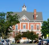 麦克多诺县法院大楼 免版税库存图片
