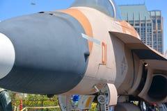 麦克当诺道格拉斯公司F/A-18大黄蜂 免版税库存图片