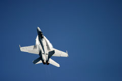 麦克当诺道格拉斯公司F/A-18大黄蜂 库存照片