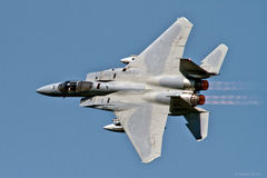 麦克当诺道格拉斯公司F-15C老鹰 免版税图库摄影