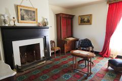 麦克莱恩议院客厅室 库存照片