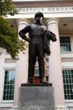 麦克阿瑟纪念品在诺福克弗吉尼亚 图库摄影