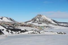 麦克默多驻地,南极洲 免版税库存照片