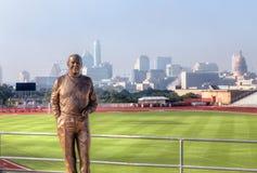 麦克A.梅尔思Statue 免版税库存照片