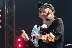 麦克Portnoy,比利Sheehan,音乐会的托尼MacAlpine和Derek Sherinian 库存照片