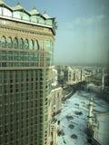 麦加,Makkah 沙特阿拉伯 在祷告期间的回教香客 免版税库存图片