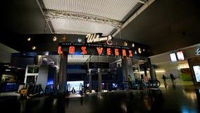 麦卡伦国际机场LAS 免版税库存照片