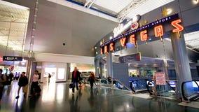 麦卡伦国际机场LAS 图库摄影