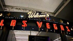 麦卡伦国际机场LAS 库存图片