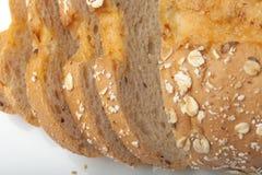 从黑麦和小麦面粉的面包 免版税图库摄影
