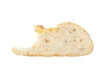 从黑麦和小麦面粉的面包 图库摄影