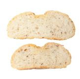 从黑麦和小麦面粉的面包 库存照片