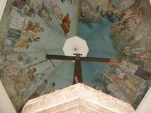 麦哲伦的十字架 库存图片