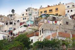 麦地那传统房子  更加气味强烈的摩洛哥 免版税图库摄影