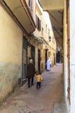 麦地那在唐基尔,摩洛哥 免版税库存照片