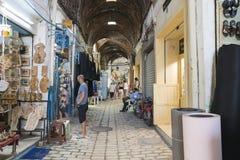麦地那在突尼斯 免版税库存照片