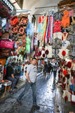 麦地那在突尼斯 免版税库存图片