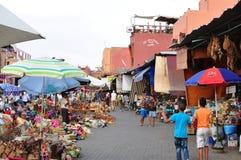 麦地那市场 库存图片