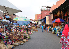 麦地那市场 免版税图库摄影