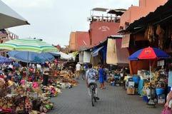 麦地那市场 库存照片