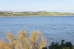 麦地那盐水湖,赫雷斯de la弗隆特里,卡迪士,西班牙 图库摄影