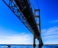 麦基诺桥 库存照片