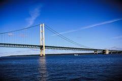 麦基诺桥 免版税库存图片
