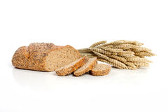麦子和玉米 库存图片