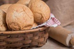 麦子晚餐卷 免版税库存图片