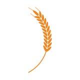 麦子的耳朵 皇族释放例证