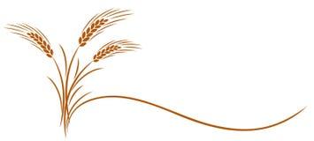 麦子耳朵标志 库存照片