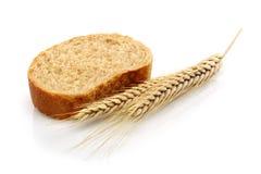 麦子面包和麦子 库存照片