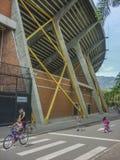 麦德林哥伦比亚的体育中心 免版税图库摄影