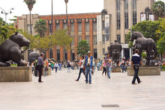 麦德林,哥伦比亚 免版税库存照片
