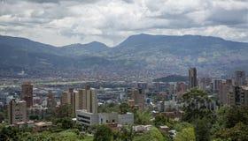 麦德林,第二个大城市在哥伦比亚 库存图片