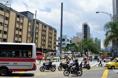 麦德林-哥伦比亚 免版税库存照片