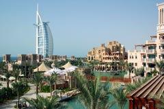 麦纳一家Salam旅馆在迪拜 库存图片