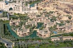 麦纳Salam在迪拜 免版税库存照片