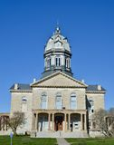麦迪逊县法院大楼 免版税库存图片