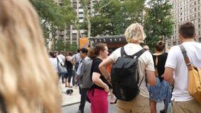 麦迪逊广场公园 影视素材