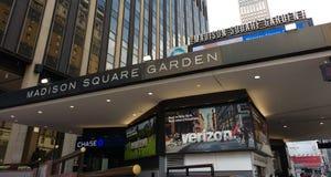 麦迪逊广场加登, NYC,美国 免版税库存图片