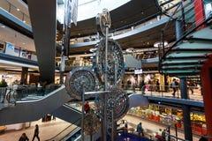 麦迪逊画廊购物中心,格但斯克 免版税库存照片