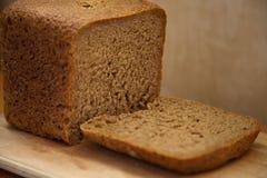 黑麦面包切口  免版税库存照片