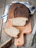 100%黑麦面包 免版税图库摄影