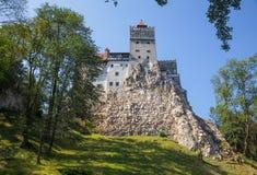 麸皮城堡在特兰西瓦尼亚罗马尼亚 免版税库存照片