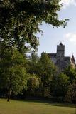 麸皮城堡在Transilvania罗马尼亚 免版税库存照片