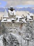 麸皮城堡德雷库拉・罗马尼亚s transylvania 图库摄影
