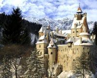 麸皮城堡德雷库拉・罗马尼亚s transylvania 免版税图库摄影